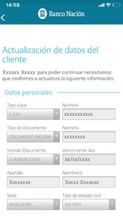 Examen nacion fotos banco Banco de